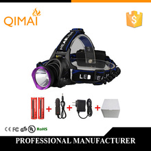 3000LM LED Headlamp CREE XML T6 3 Modes Rechargeable Headlight Head Lamp Spotlight For Fishing+Charger(US EU UK)+2 PCS 18650