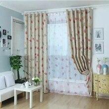hot deal buy modern blackout curtains for living room bedroom cartoon animal print cloth window blackout curtains for window drapes blinds