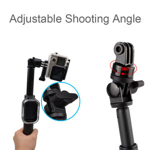 Image 3 - 39 Inch Waterproof Selfie Stick for Gopro Hero 8 7 6 5 4 3 Session Camera For Go Pro Monopod Accessories