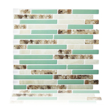 Cocotik Peel and Stick Wall Tiles 10.5 x 10 Kitchen Backsplash Tile Resin 3D Sticker Tiles/ pack