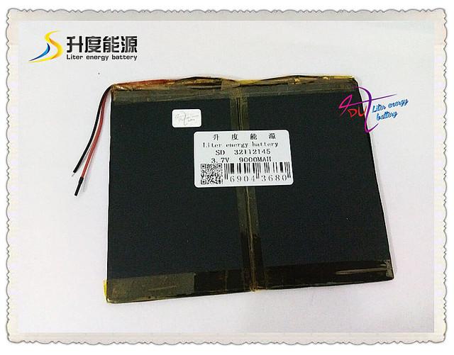 3.7 V 9000 mAH SD 32112145 (íon de lítio polímero bateria/Li-ion) para tablet pc, MOBILE POWER BANCO; telefone celular, palestrante