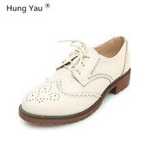 f930a56e9 Mulheres Trepadeiras Brogue Sapatos Oxford Mocassins Flats de Couro da  Mulher Designer de Sapatos Baixos Dedo