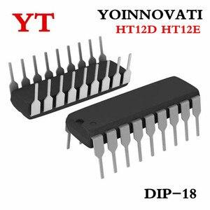 Image 2 - 50 uds/lote 25 uds HT12D y 25 uds HT12E DIP18 HT 12D + HT 12E mejor calidad