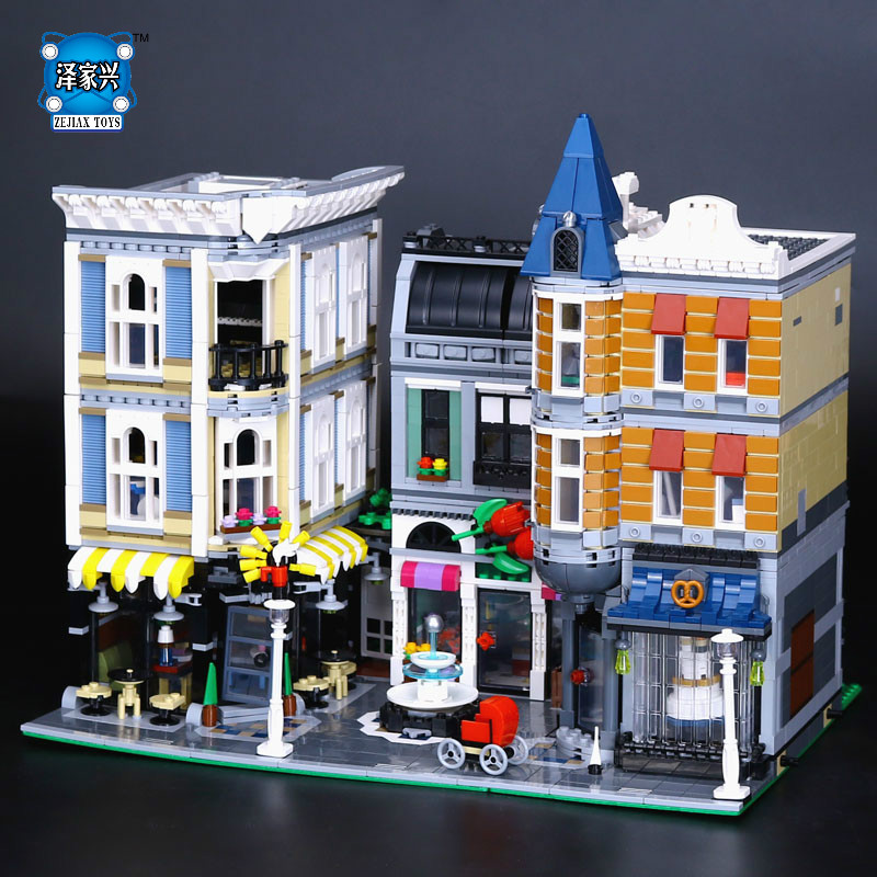 HOT MOC Creative Series The Assembly Square Set Compatible Educational Figures LEPINS Building Blocks Bricks Boy Toy Model Gifts assembly animal puzzle toy set intelligence dinosaurs fossil educational model building block kit for children kid boy hot diy