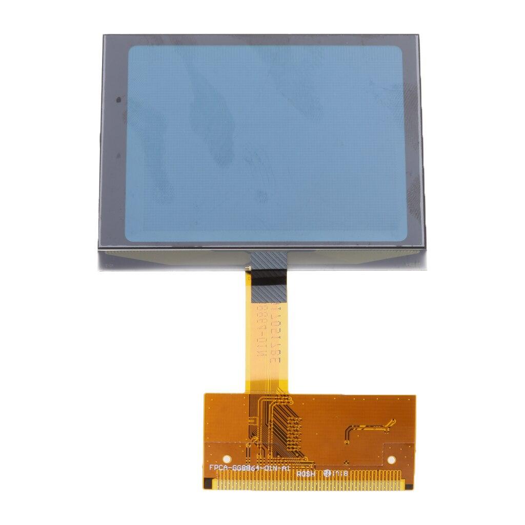 1 Piece LCD Repair Cluster Speedometer Display Screen Instrument Panel Gauges For 99-05 Audi A6 TT 8N