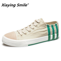 Mens Canvas Shoes Casual White Summer Shoes Black Fashion Designers Footwear Leisure Shoes Outdoor Flat Students