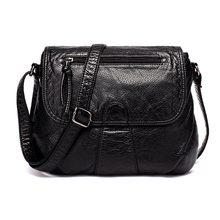 High Quality Women Messenger Soft PU Leather Bag