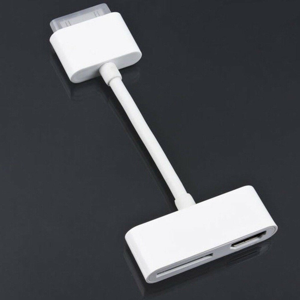 Neue USB HDM HDTV Zu <font><b>Dock</b></font> <font><b>30</b></font> <font><b>Pin</b></font> TV Adapter Konverter Kabel für IPad 1 2 3 für IPhone 4 4s image