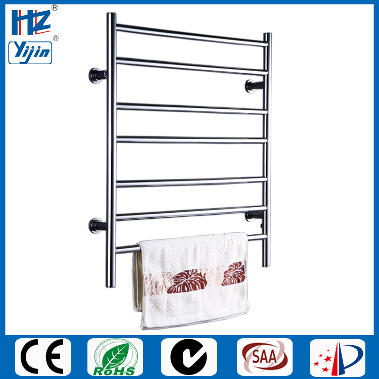S Shape Concealed Exposed Wiring Heated Towel Rail