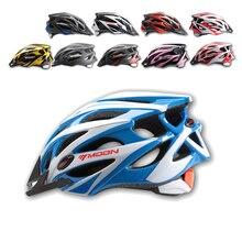 MOON Сверхлегкий велосипедный шлем интегрально-литой Casco Ciclismo дорожный горный велосипед защитный шлем