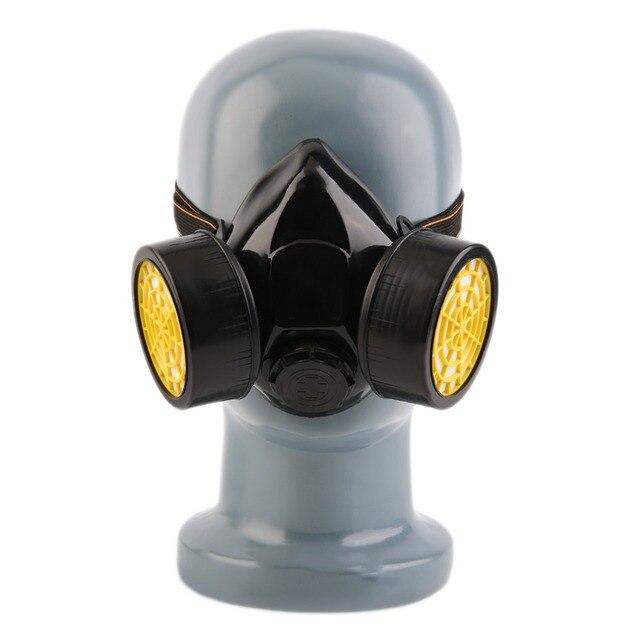 Pro Preto Máscara de Gás dos Bombeiros de Sobrevivência de Emergência  Segurança Respiratória Anti-Poeira 3dd33f9024