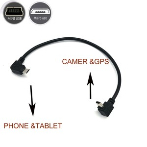 Image 5 - OTG CABLE for camera to smartphone tablet phone micro usb to mini usb for canon nikon olympus camcorder
