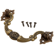 2Pcs 85x45mm Antique Retro Furniture Handles Cabinet Knobs and Handles Kitchen Drawer Cupboard Pull Handles Furniture Fittings antique furniture cabinet knobs handles retro kitchen knockers drawer cupboard pull door handle furniture fittings