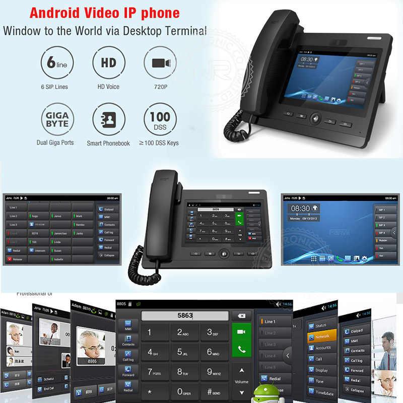 Video Intercom System Video SIP Door Phone support for PBX Huawei/  Asterisk/ 3CX/ NEC/ Alcatel/ ZTE/ Avaya/ Cisco IP PBX