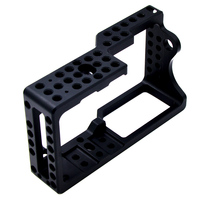 Video Camera Cage Stabilizer Protector Case For BMPCC Camera To Mount Microphone Monitor Tripod LED Light