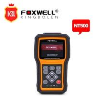 Foxwell nt500 vag сканер диагностический инструмент сканирования obdii всех систем, включая двигатель, airbag abs/t obd2 автомобиля диагностический инструмент
