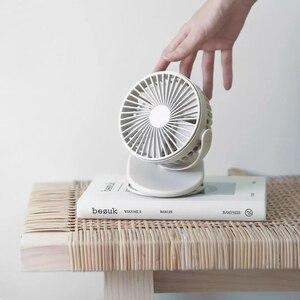 Image 4 - Youpin Solove Clip Fan 3 Voorruit 360 Graden Front Mesh Verwijderbare Draagbare Handheld Oplaadbare Mini Ventilator Voor Thuis Kantoor