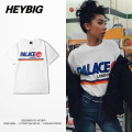European fashion Skateboard T-shirt 2016 New Arrival Heybig Clothing men Summer Tops Chinese SIZE Customization for 50pcs above