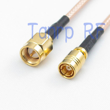 6in SMA male plug to SMB female jack RF adapter connector 15CM Pigtail coaxial jumper cable RG316 extension cord