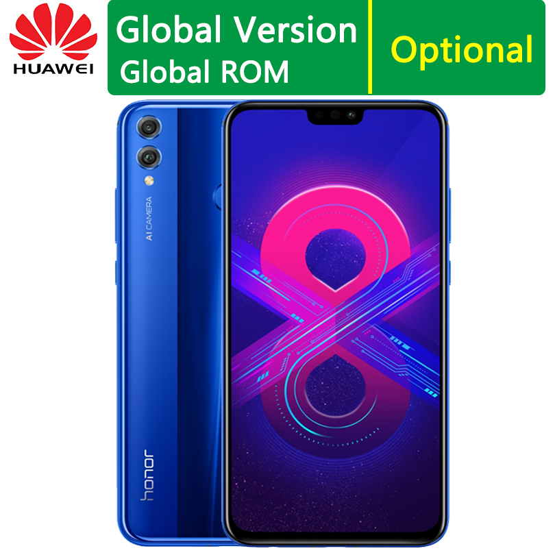 Huawei Honor 8X CellPhone 6 5 inch Screen 4GB RAM 64GB Kirin 710 Octa core Dual
