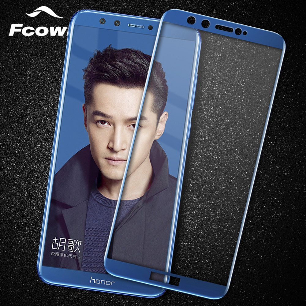 Sticla pentru Huawei Honor 9 Lite Tempered Glass 0.3mm 9H Cover Full Screen Protector Sticla pentru Huawei Honor 8 Lite Glass