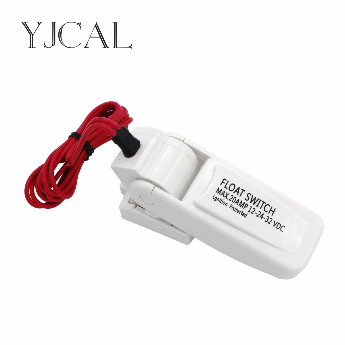 Flow Sensor Automatic Electric Bilge Water Pump Float Switch DC Liquid Auto Toggle Level Controller 20 AMP 12-24-32 VDC mj uqk 6 mini submersible pump with float switch small flow high chemical resistance oil tank level switch liquid level sensor