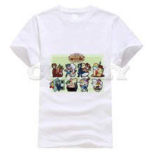 2019 New T-shirt Short Sleeve Jojo Bizarre Adventure Thsirt Japan Anime Cartoon Summer Dress Men Tee Clothing Funny T Shirt