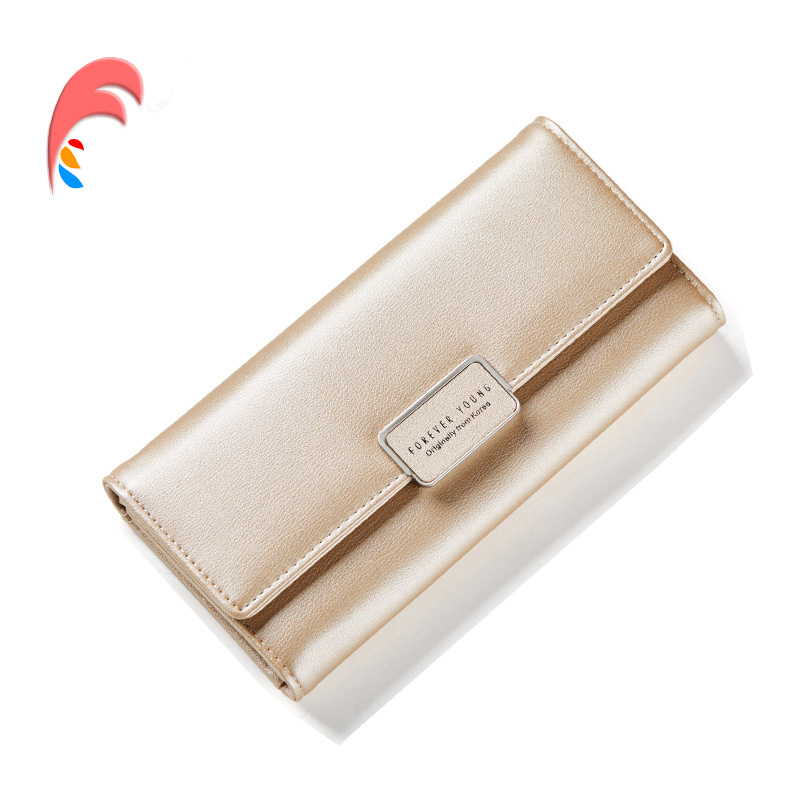 Fashion Women Purse Leather Women Wallet Female Party Long Wallet Cards Holder Clutch bag Solid Lady Cute Fashion Gold Wallet fashion women lady faux leather handbag clutch envelope evening bag wallet purse party retro sexy elegant long solid wallet
