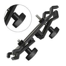 Camera Umbrella Lighting Clip Holder Tripod Bracket Stand Photography Accessory