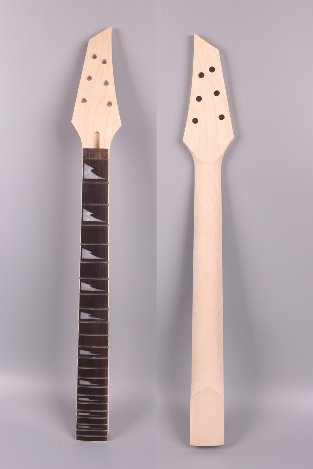 electric guitar neck 22 fret 25.5'' maple Locking nut JKX style yinfente 2 maple guitar neck 22 fret full fret job nut neck for st tl replacement with nut 42