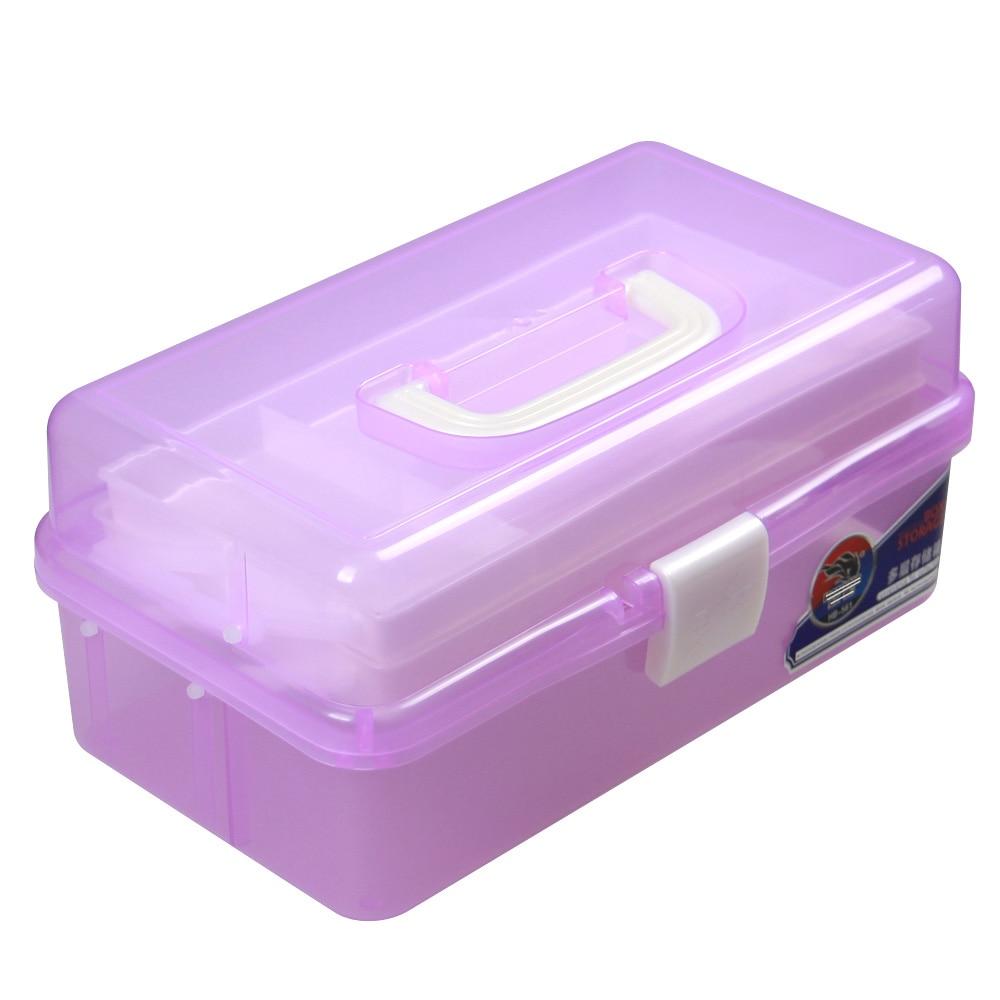 3 Layer Multi Utility Storage Case professional Nail Art box ...