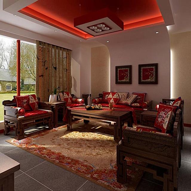 1 + 2 + 3 asientos 8 piezas de alto grado muebles sofá Set Rosewood ...