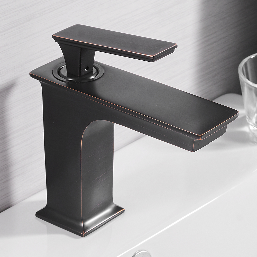 Basin Faucets Fashion Bathroom Mixer Tap Brass Washbasin Faucet ...