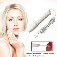110 240V High Frequency alta frequencia facial massager Spot Acne Remover Facial Spa Salon Beauty Cosmetic instrument wholesale