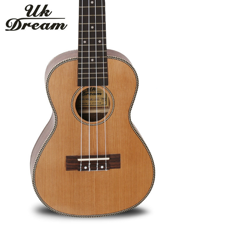 small 23 inch acoustic guitar classic musical instruments four strings 18 frets closed knob. Black Bedroom Furniture Sets. Home Design Ideas