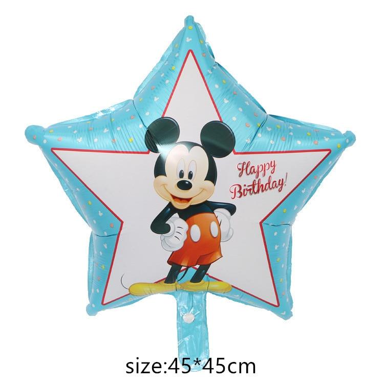 Гигантский мультяшный милый мышонок мультяшный воздушный шар из фольги воздушный шар детский день рождения украшения Классические игрушки подарок мультяшная шляпа - Цвет: 10