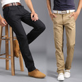 New Classic hombres verano pantalones de Alta Calidad Slim Fit Cotton estilo de negocios Formales Masculinos Pantalones Casuales Pantalones de Los Hombres de la Marca Ropa