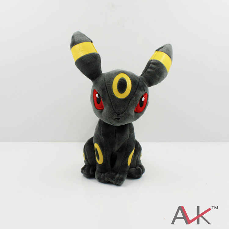 "8 ""20 cm Umbreon Eevee Toy Plush Macio Stuffed Animal Boneca"