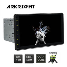 "ARKRIGHT 9 ""2Din 4 + 64 GB HD Android 8.1 autoradio Wifi/GPS/Bluetooth/universal Car Radio di musica di Multimedia Player con DSP"