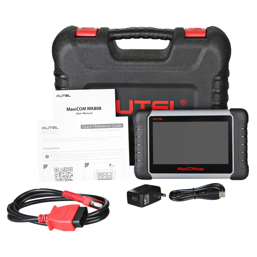 Image 5 - Autel MaxiCOM MK808 OBD2 Car Diagnostic Tool OBD 2 Automotive Scanner IMMO EPB SAS BMS TPMS DPF Service PK MD802 MaxiCheck Pro-in Engine Analyzer from Automobiles & Motorcycles