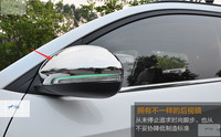 Lapetus Rearview Side Door Mirrors Decoration Frame Cover Trim Chrome ABS Fit For Hyundai Tucson 2016 2017 2018 2019