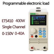Single Channel High Precision Battery Tester ET5410 400W 150V40A RS485 DC Battery Tester Electronic Load Battery Capacity Tester electronic load 0 10a 100w dc 12v discharge battery capacity tester testing module dc electronic load digital battery tester