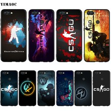 Yimaoc Cs Pergi Silicone Case untuk HUAWEI Mate 10 P8 P9 P10 P20 Lite Pro P Y7 Y9 Smart Mini 2017 2018(China)