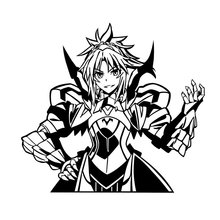 PowerAngel Huge Fate Apocrypha Joan of Arc Karna Amakusa Mordred DIY Game Anime Sticker For Car