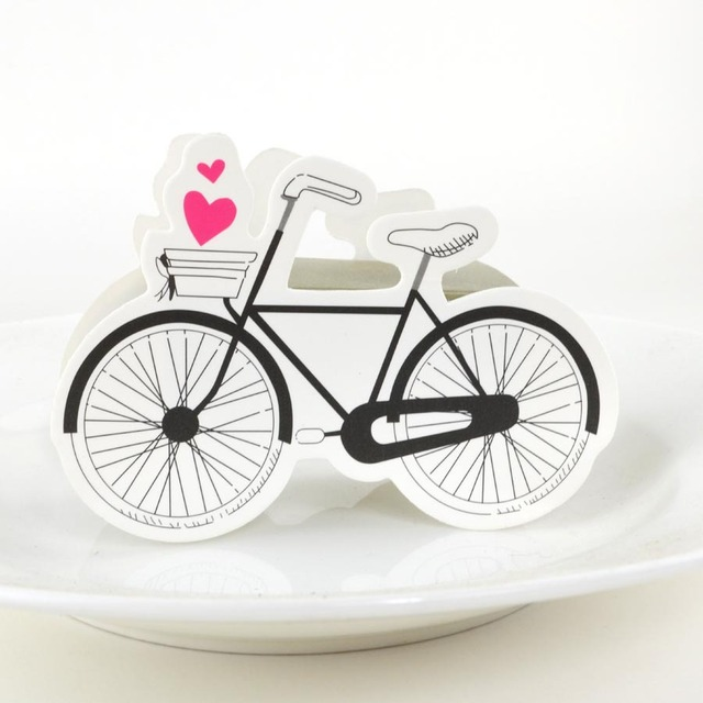 Whole 50 X Wedding Candy Box Bicycle Favor Bo Casamento Favors Gifts