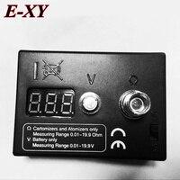 E XY Atomizer Resistance Tester Ohm Meter EGo Atomizer Testers High Quality Resistance Tester For Ce4