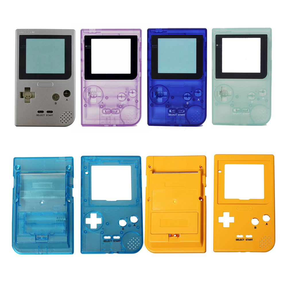 US $7 79 10% OFF Game Replacement Case Plastic Shell Cover for Nintendo  Gameboy Pocket Game Console for GBP Console Case housing-in Cases from