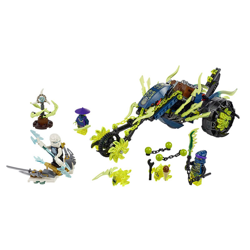 Lepin Pogo Bela Phantom Chain Cycle Ambush Motor Masters Ninjagoe Thunder Swordsman Building Blocks Bricks Compatible Legoe Toys