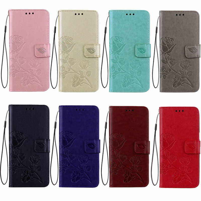 Роскошный флип-чехол с розовым цветком чехол для iPhone 6 s 6s 7 8 Plus X 10 5 5S 5SE 6 Plus 6s Plus 7 Plus 8 Plus 360 чехол для смартфона