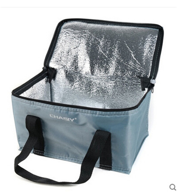 ThermalCooler Bag Insulation Picnic Lunch Box Thicken Waterproof Bolsa Termica Folding Ice Pack 9 Color